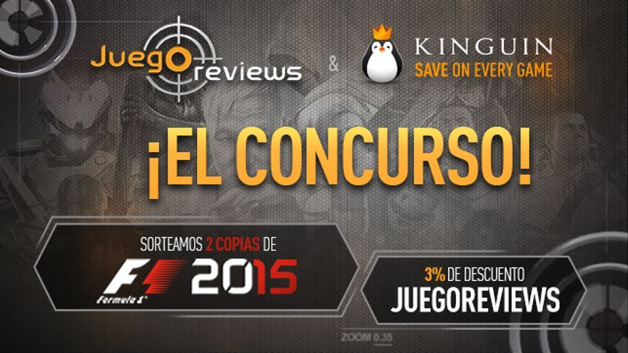 F1 2015 sorteo copias PC