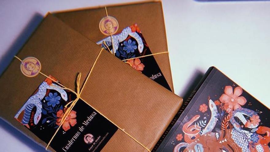 Ejemplares de 'Cuadernos de Medusa'