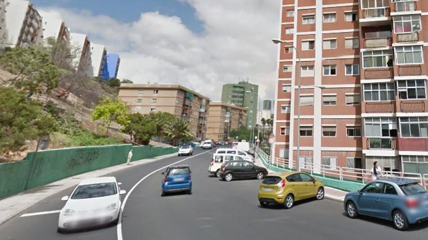 Calle Juan Saraza Ortiz, donde ocurrieron los hechos.