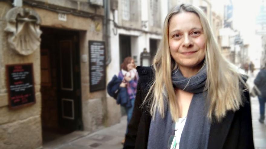 Raquel Martí, en Santiago / Praza Pública