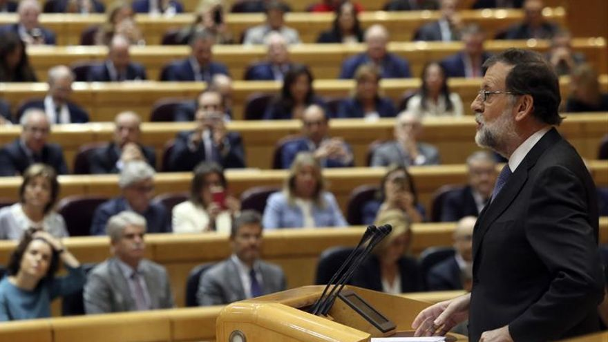 Rajoy advierte de que una Cataluña independiente nunca tendrá apoyo de la UE