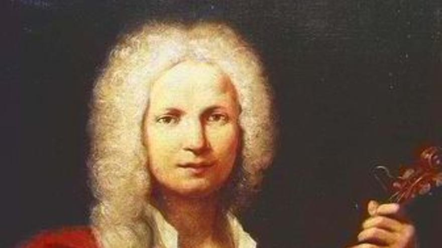 Pintura del compositor y violinista italiano Antonio Vivaldi