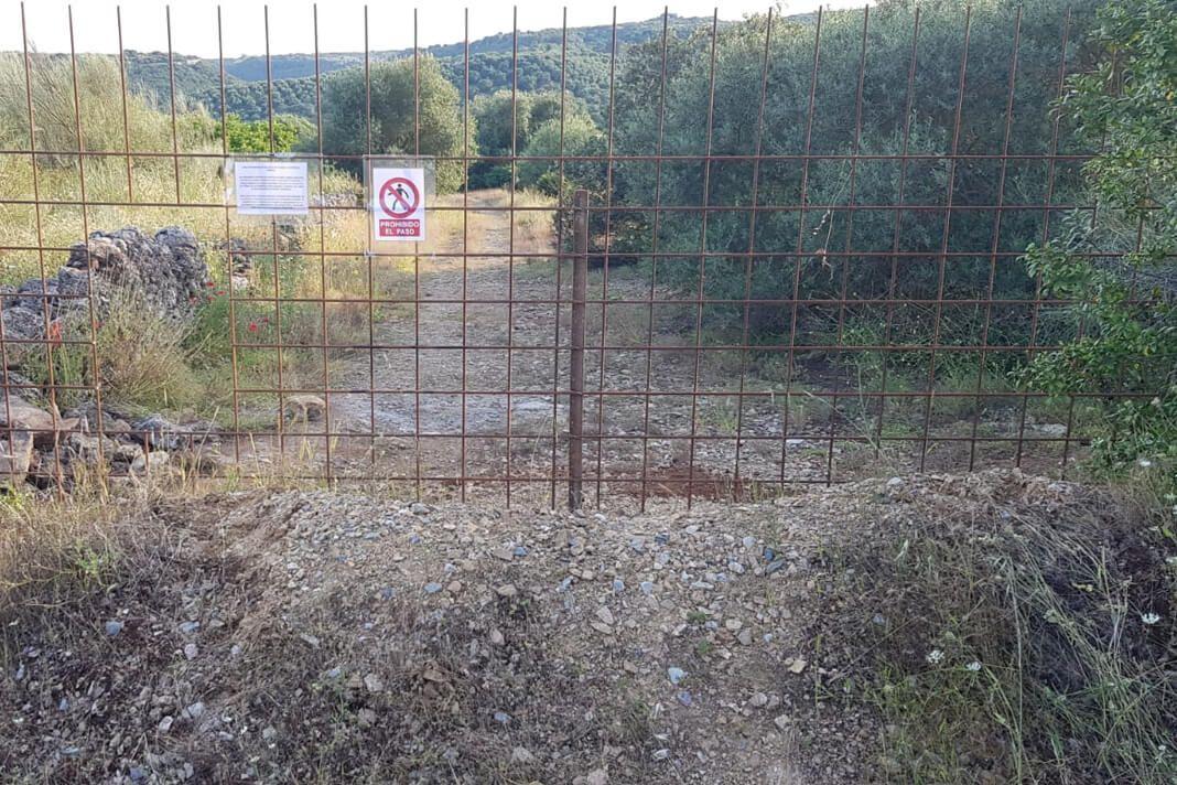 Denuncian que un particular ha cerrado la Cañada Real Soriana aprovechando el estado de alarma   CORDÓPOLIS, el Diario Digital de Córdoba