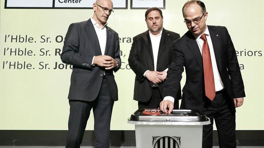 """Junqueras garantiza que habrá """"alternativas"""" donde se impida la votación"""