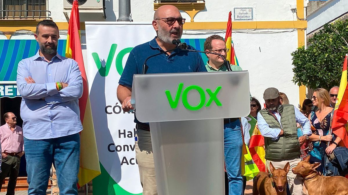 Acto de Vox en Hornachuelos este sábado