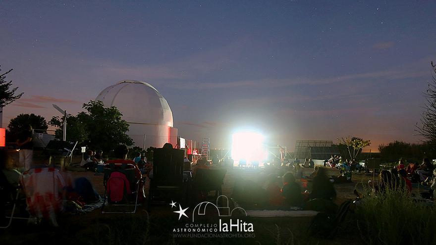 Observación de las Perseidas en Toledo, 2015