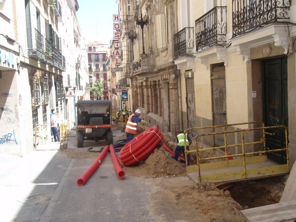 La calle Pizarroen obras | L.C.