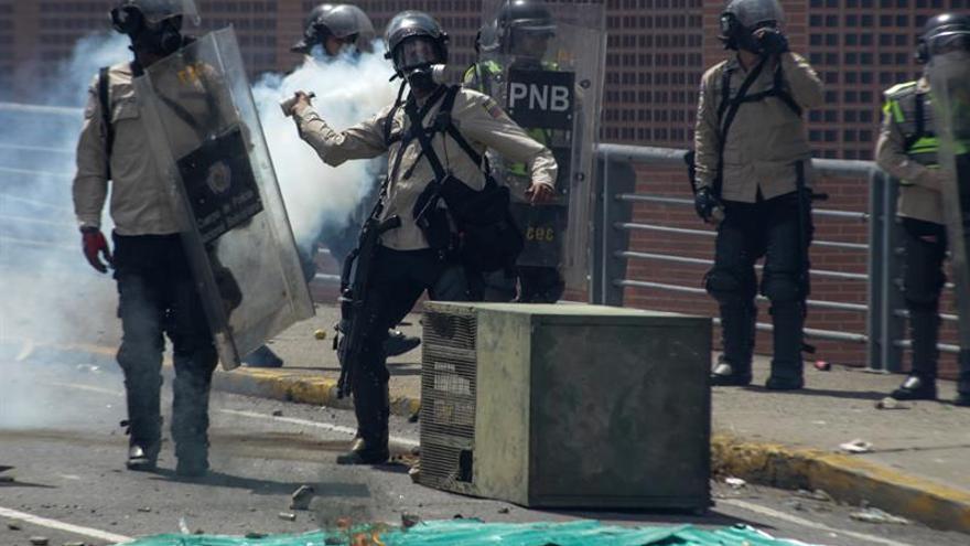 Venezuela contabiliza 14 detenidos y 34 heridos tras la jornada de protestas