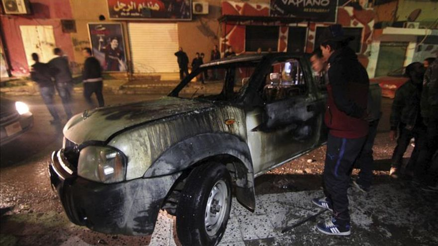 340 Muertos en la ciudad libia de Bengasi tras un mes de enfrentamientos