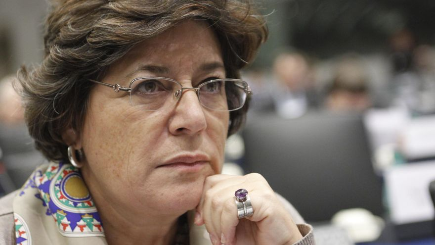 La eurodiputada Ana Gomes, del Partido Socialista portugués