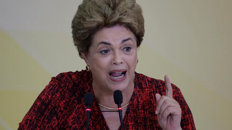 Dilma Rousseff, expresidenta del Gobierno del Brasil.
