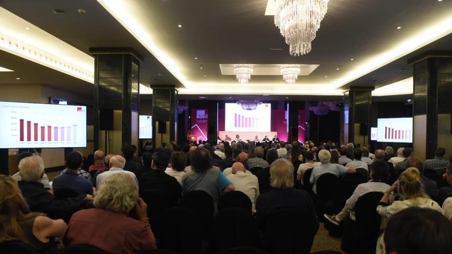 Imagen de la Asamblea de la SGAE/ Twitter