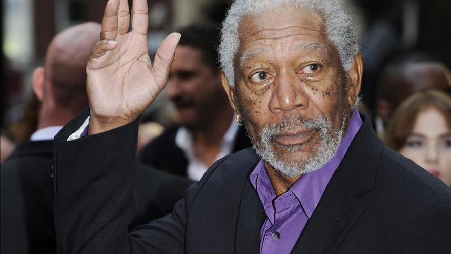 """El actor Morgan Freeman dice que """"si creo en el personaje, el público lo hará también"""""""