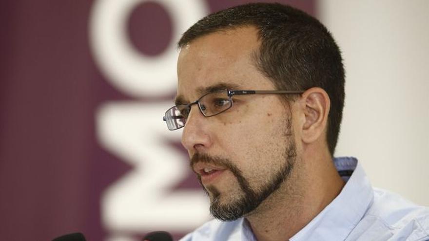 El diputado por Sevilla y ex secretario de Organización de Podemos, Sergio Pascual.