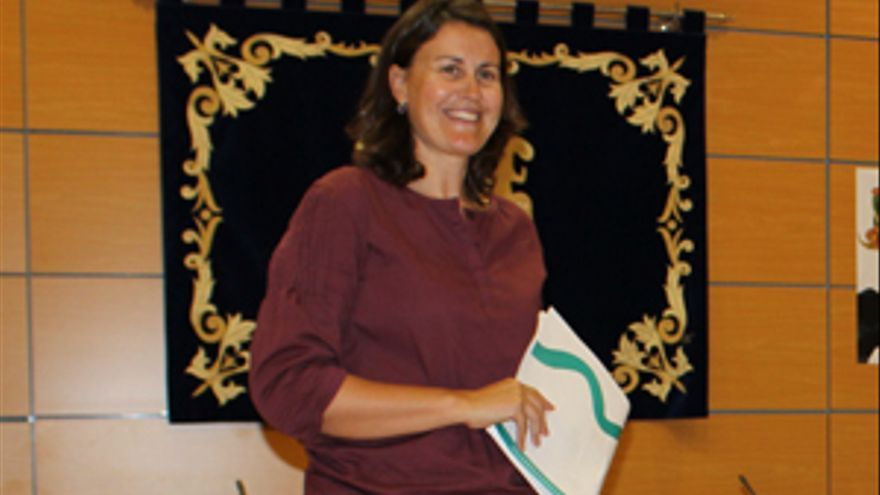 Natalia Évora en una imagen de archivo. (FUERTEVENTURA AHORA)