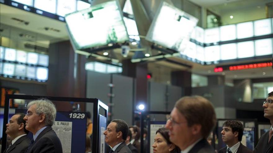 La bolsa de Sao Paulo comienza el día al alza y sube un 1,24 % en apertura