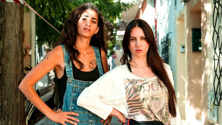Alba Flores y La Mala Rodríguez, juntas en el rodaje de Vis a vis