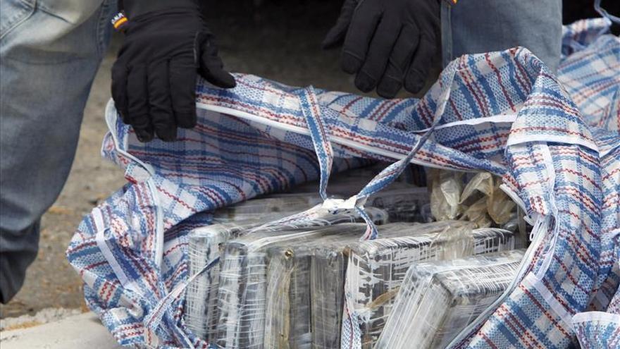 Aprehendidos 198 kilos de cocaína en un contenedor en San Roque (Cádiz)