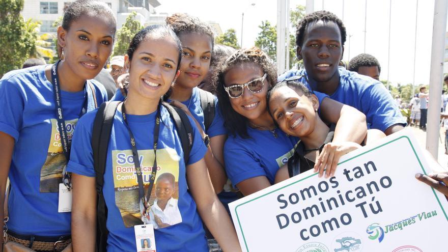 Concentración frente al Congreso en Santo Domingo, marzo de 2014 © AI