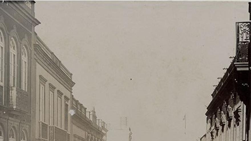 Calle de Triana en 1900