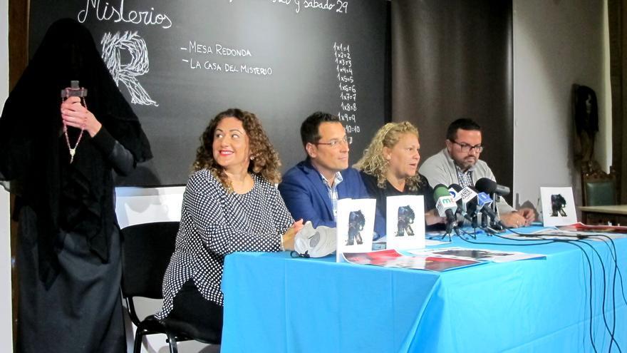 Presentación de la publicación, este miércoles en la Casa de La Parra