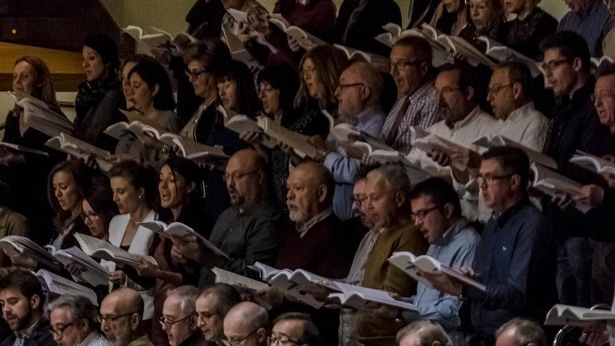 Interpretación de 'El Mesías' en el Palau de la Música