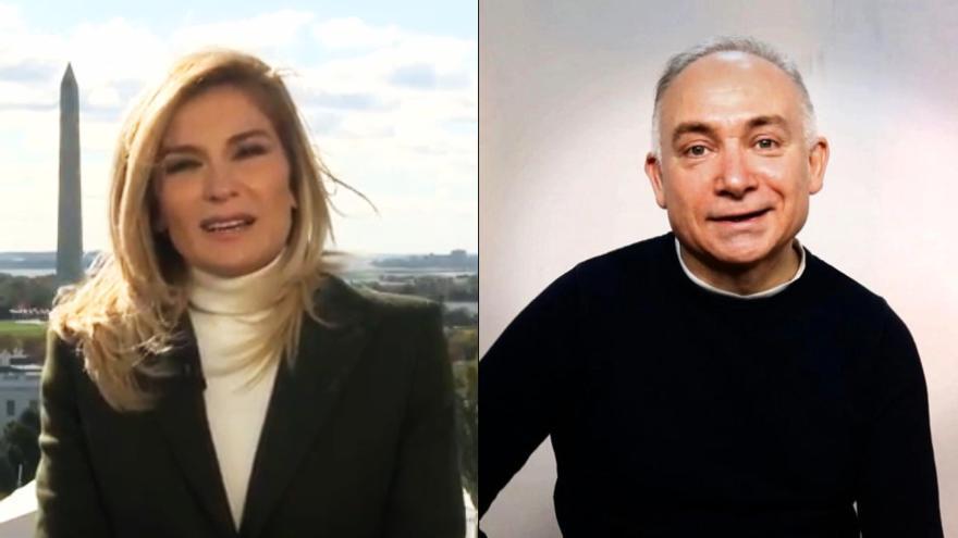 Sandra Golpe y su compañero fallecido, Leo Picazo