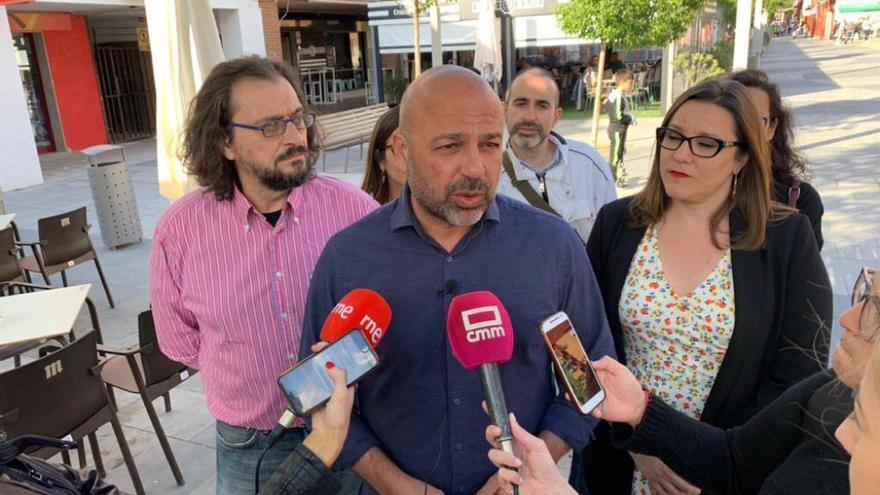 El candidato de Unidas Podemso, José García Molina