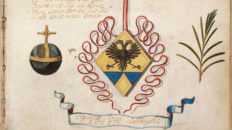 Cuantos más escudos de armas, más importante era la red creada por el noble en su viaje