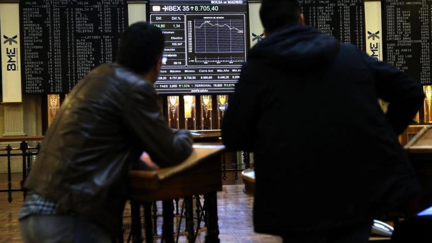 La Bolsa española inicia febrero al alza, con ganancias del 0,31 por ciento