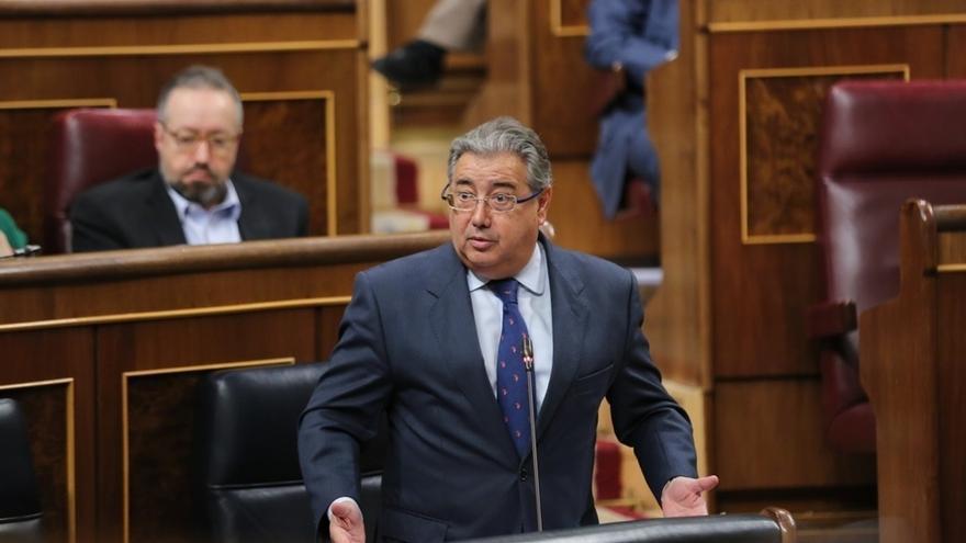 Juan Ignacio Zoido, en el Congreso.
