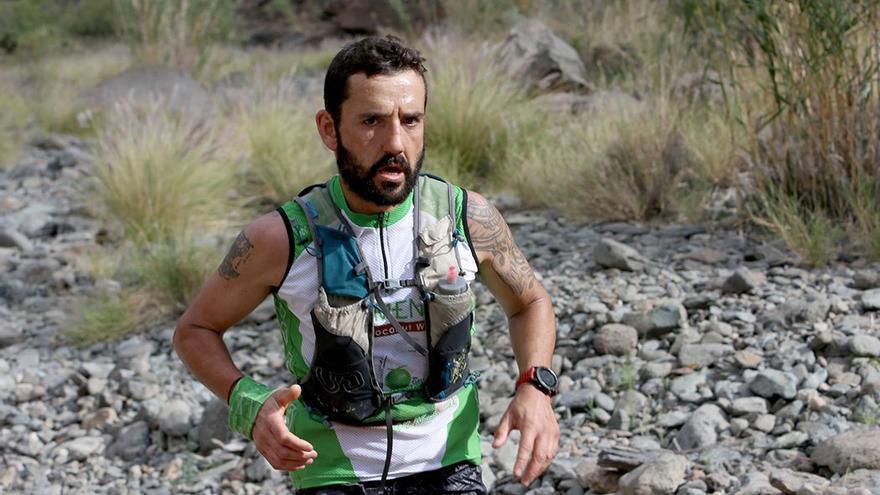 Jordi Gamito, deportista y participante en la Transgrancanaria.