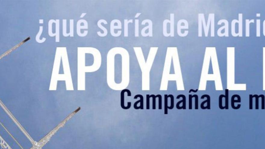 Cartel de apoyo a la campaña de mecenazgo   SALVEMOS EL FRONTÓN BETI-JAI