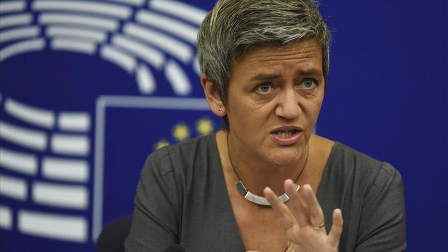Margrete Vestager, comisaria europea de Competencia.