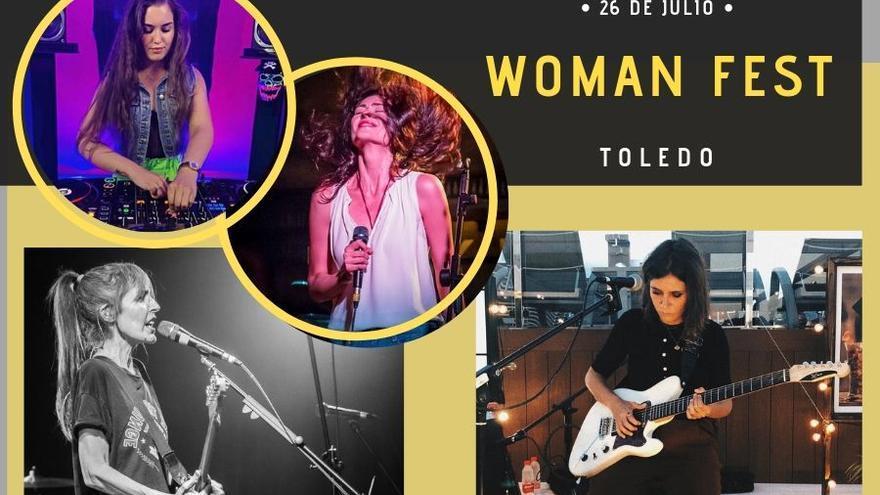 Participantes Woman Fest. Collage: Bárbara D. Alarcón