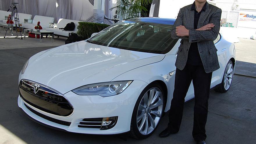 Elon Musk, cofundador de Tesla.