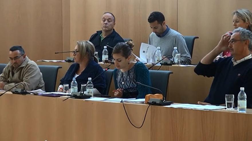 Pleno Tías. Antimo Valiente, primer concejal por la derecha. Foto: Diario de Lanzarote