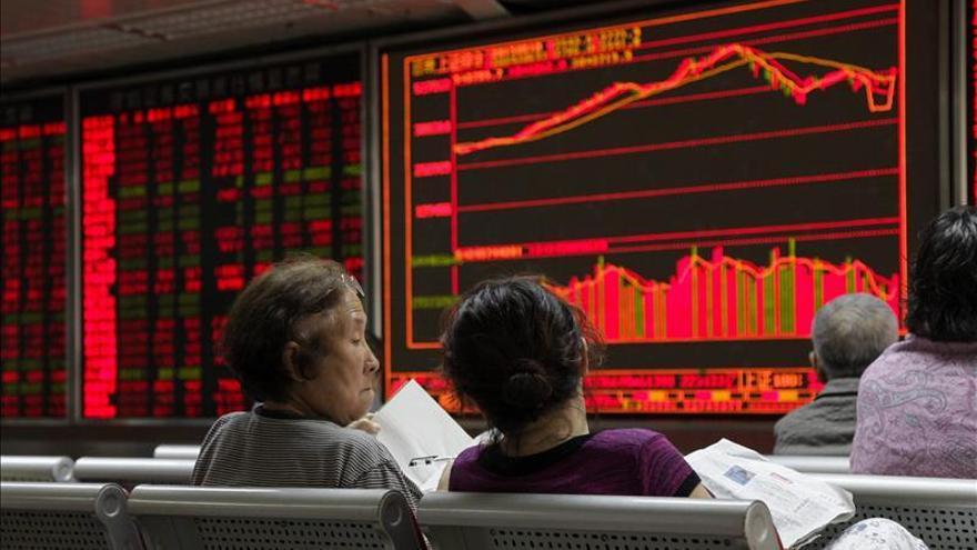 La Bolsa de Shanghái abre con un descenso del 0,25 %