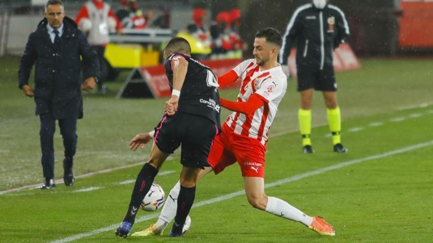 Bruno Wilson se perderá el partido en Albacete por sanción y Zarfino es duda