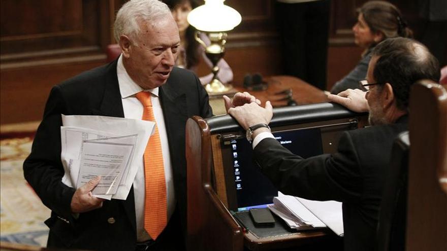Margallo afirma que las embajadas no permitirán que las cátedras alienten la secesión