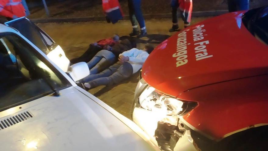 Detenidas tres personas en Olaz tras una persecución al ser sorprendidas intentando robar en un inmueble