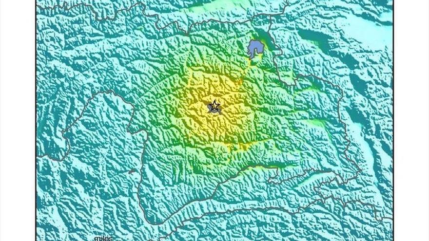 Se registra un terremoto de magnitud 7,2 en Tayikistán