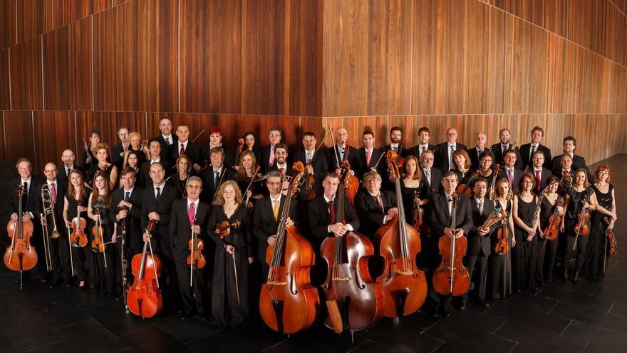 La Orquesta Sinfónica de Navarra graba en Baluarte la banda sonora de la película 'Thi Mai'