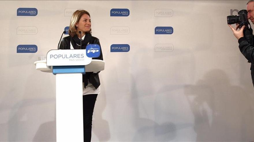 Quiroga dice que comparar donaciones al PP y a Cáritas no ha sido lo más adecuado