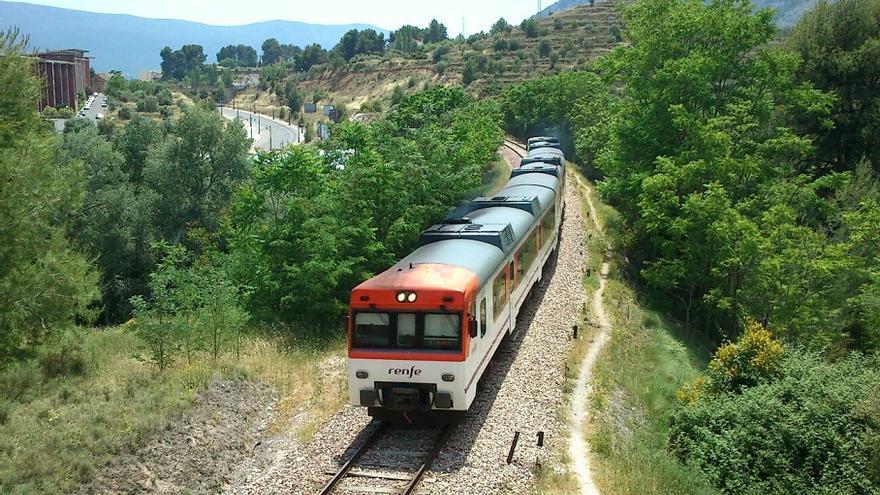 El tren Xàtiva-Alcoi ralentizará su recorrido