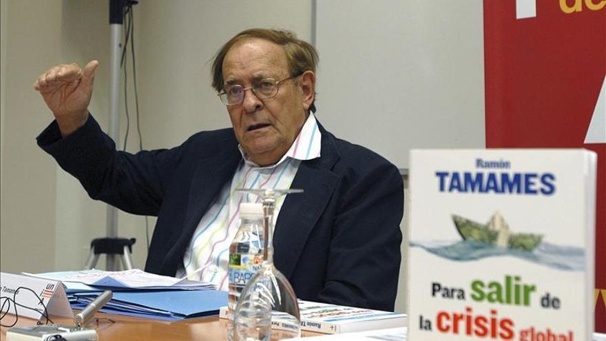 Tamames propone que el fiscal del Estado lidere la lucha contra la corrupción
