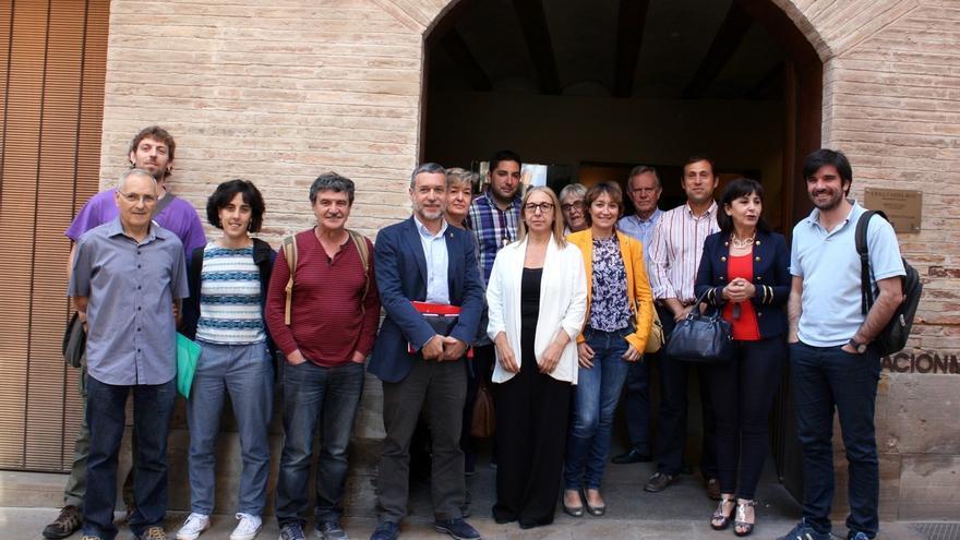 Laparra informa a los ayuntamientos riberos de la extensión de la bolsa de alquiler a toda Navarra