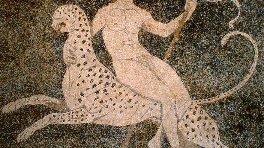 Mosaico de Dioniso - Pella (Grecia).