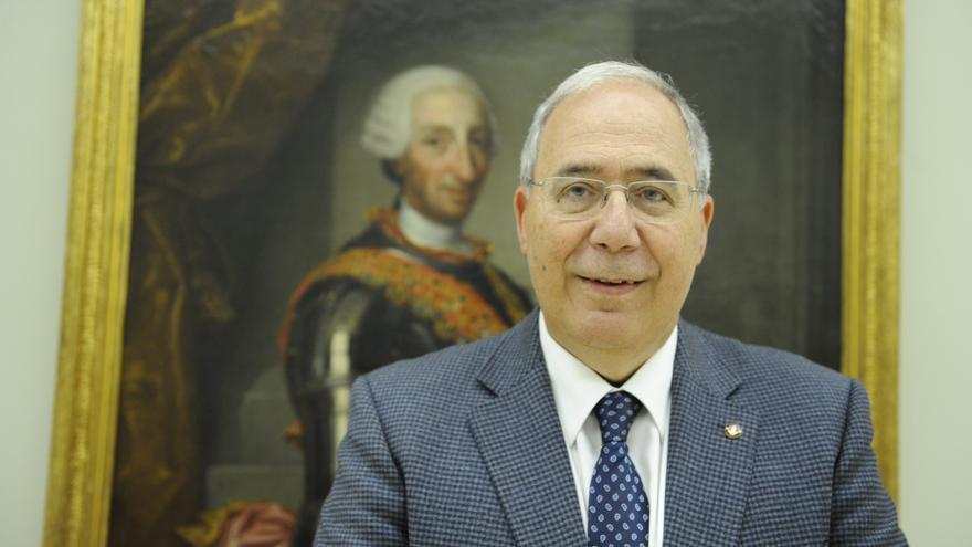 Roberto Fernández, rector de la Universidad de Lleida y presidente de la CRUE.