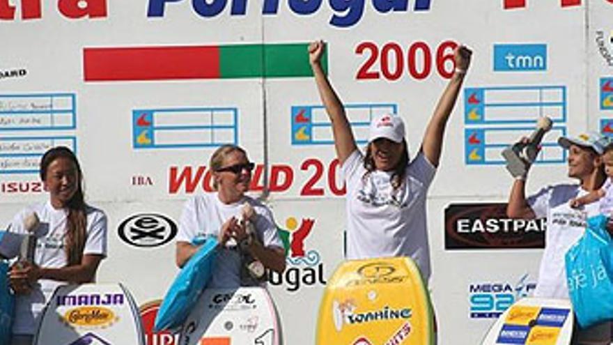 Marina Taylor se impuso en Sintra en 2006.